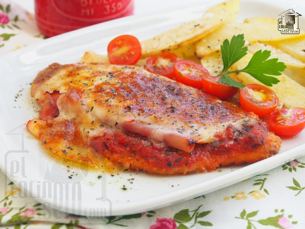 Pechugas de pollo a la napolitana