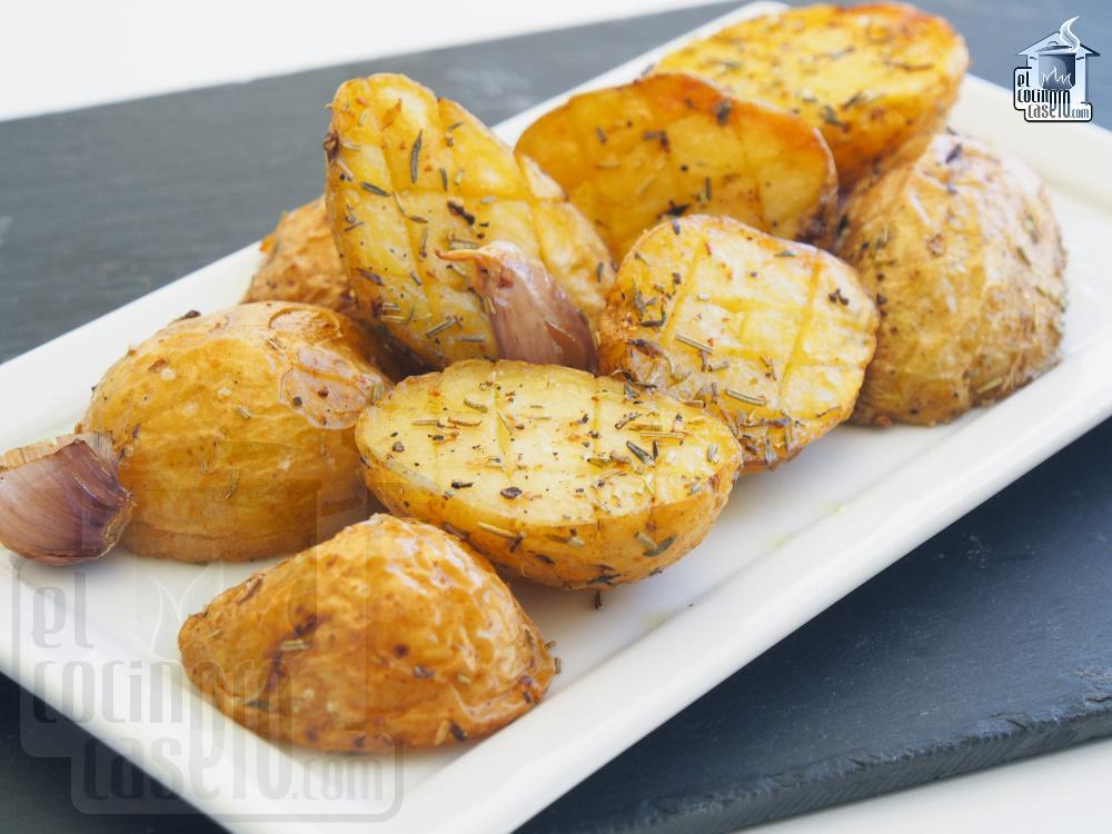 Patatas asadas al horno el cocinero casero guarniciones - Patatas pequenas al horno ...