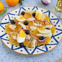 Ensalada de naranja y bacalao (Remojón granadino)