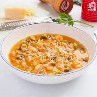 Sopa minestrone italiana