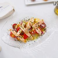 Ensalada de ventresca y tomate