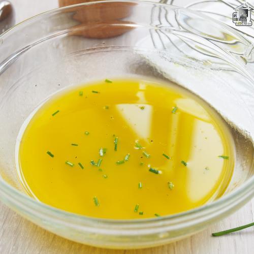Vinagreta de limón y cebollino