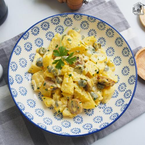 Ensalada de patata alemana o Kartoffelsalat