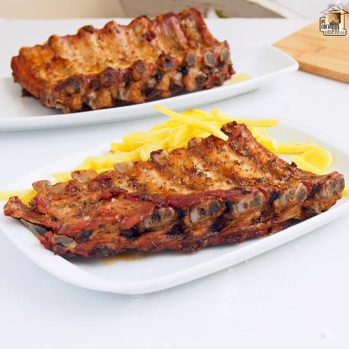 Churrasco de cerdo al horno